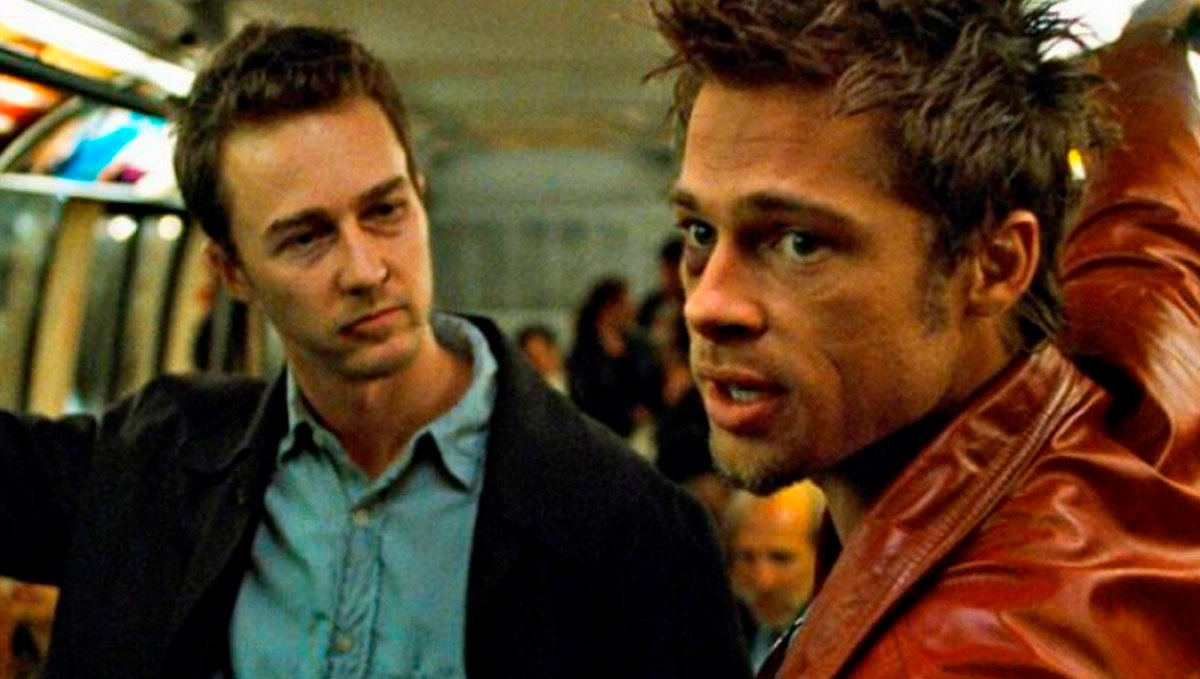 Get high and join Brad Pitt and Edward Norton in Fight Club