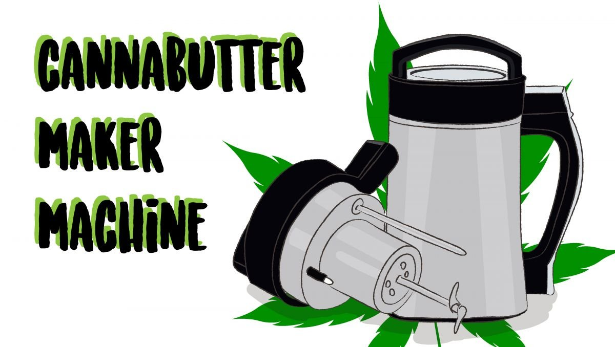Cannabutter Machines are great for those stoners who love cooking edibles.