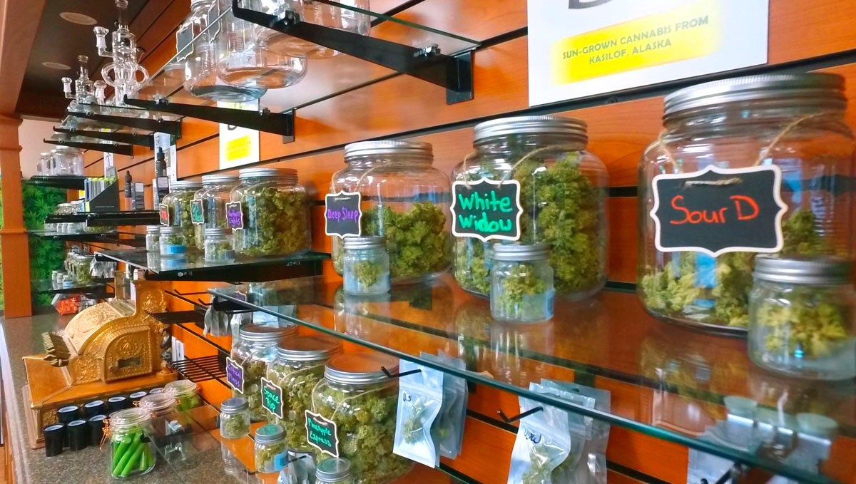 Both coffeeshops and dispensaries have in common that people buy marijuana there.
