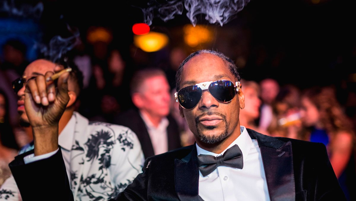 If cannabis was a religion, Snoop Dogg would probably be the god.