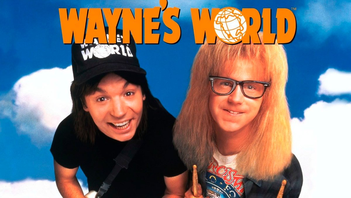 Get stoned and watch Wayne's World for a good laugh.