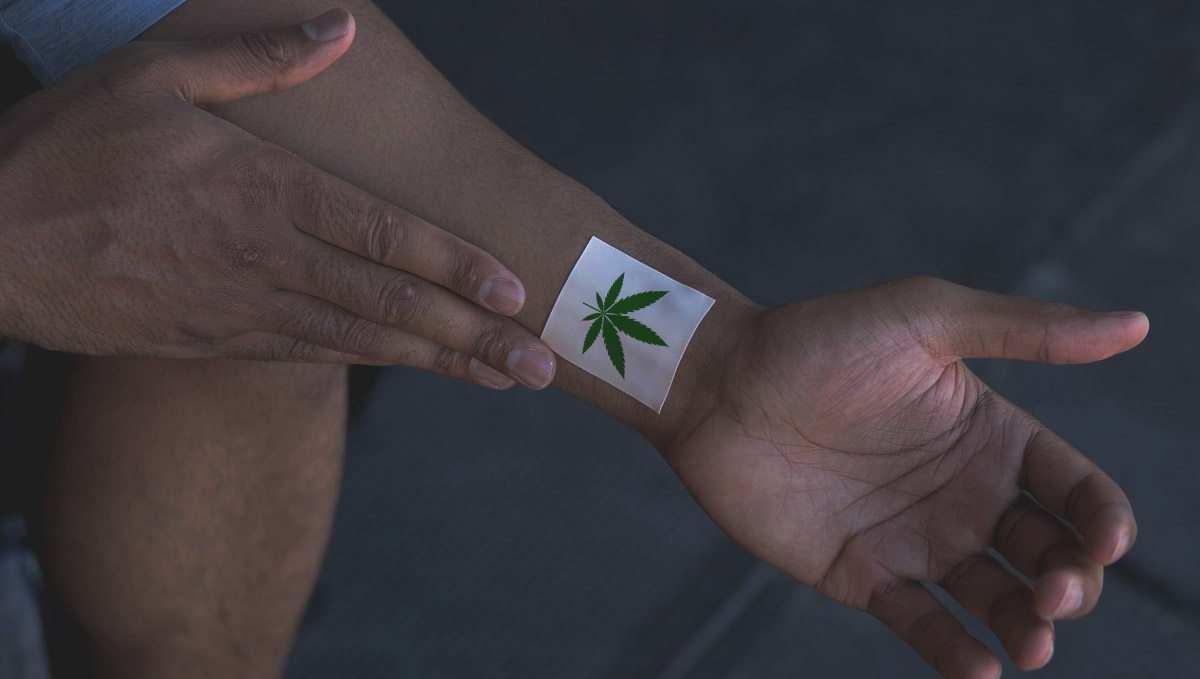 Cannabis transdermals are usually found as patches.