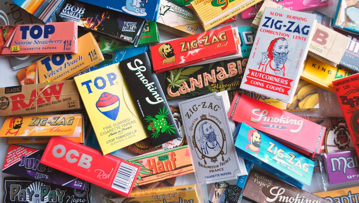Shopping for rolling papers can be fun!