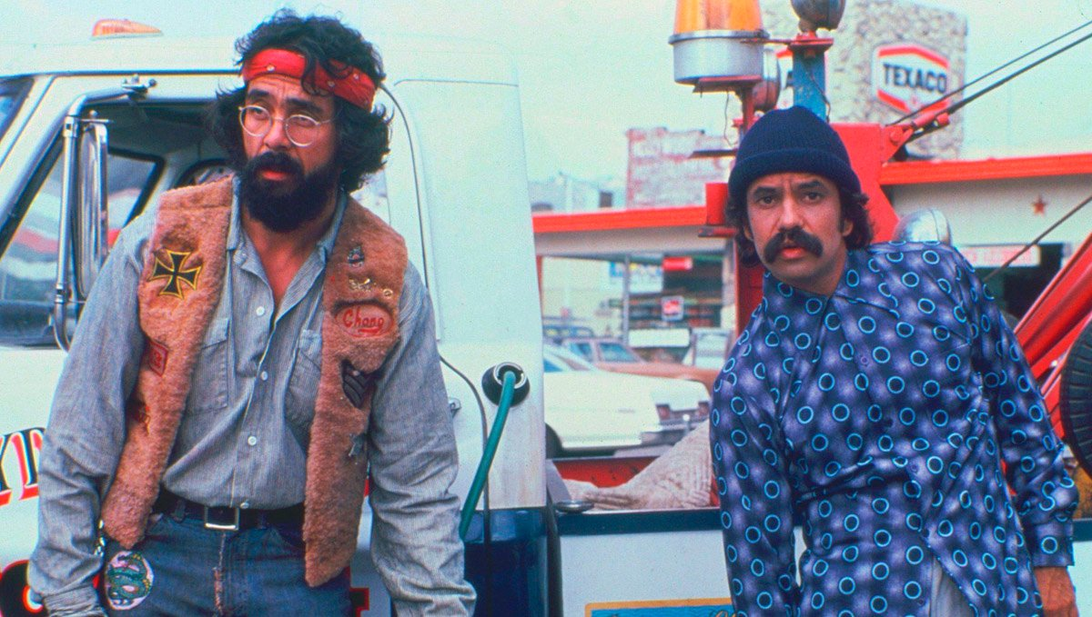 Cheech & Chong were the pioneers of stoner movies.