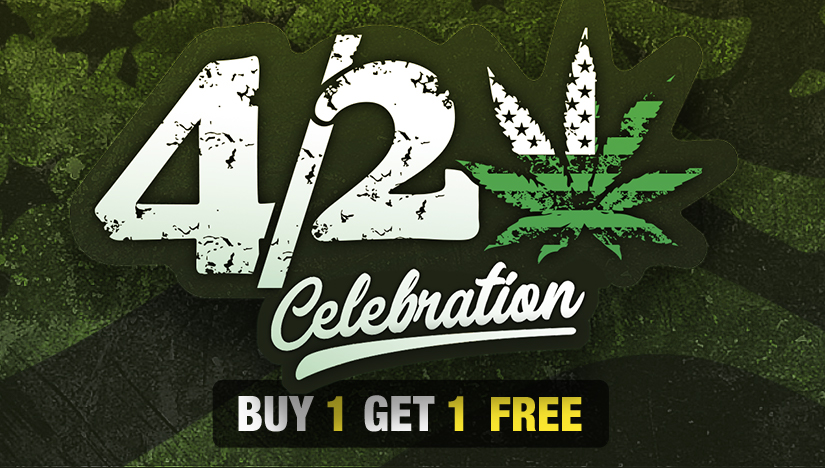 2 for the Price of One! Fast Buds' 4/20 Celebration is on!