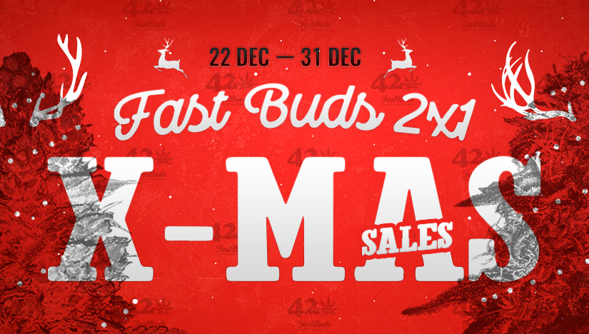 Santa Doubles the Size of Your Grow With Fast Buds' 2 x 1 Christmas Sale!