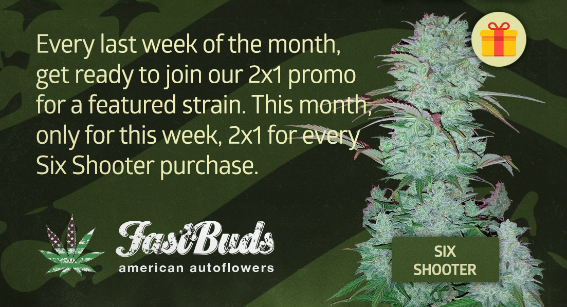 Strain of the Week 2x1 - Six Shooter!